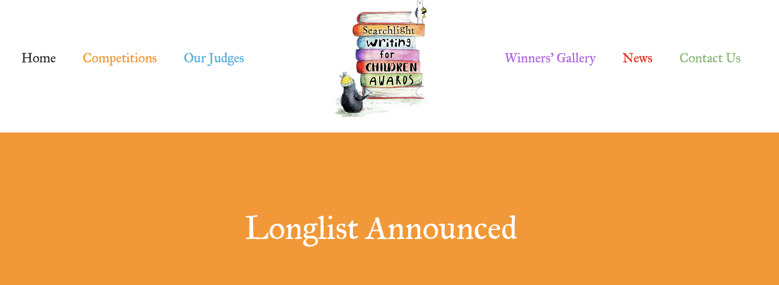 I made it on to the Searchlight Awards Longlist